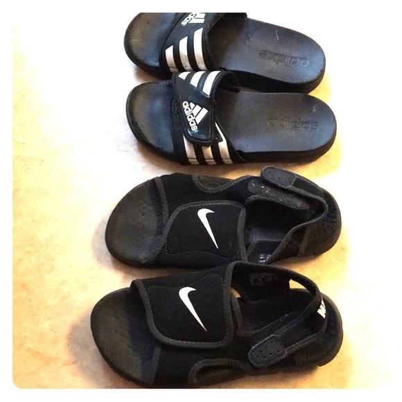 4db3db1123c2 Nike Adidas Boys Sandals. M 5bf2b99d3e0caaa18381855e